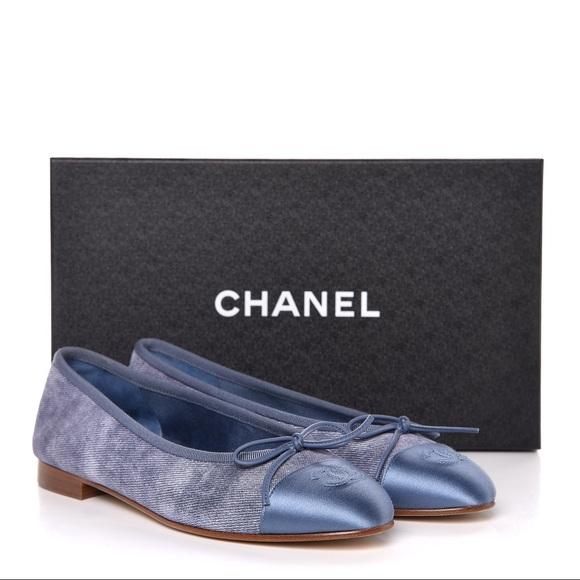 92c9481424b Authentic Chanel Ballet Flats